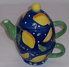Buy 3 piece Bella Casa tea pot and cup