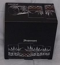 Buy Set of 4 Shannon by Godinger cut crystal