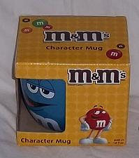 Buy M & M BIG FACE CERAMIC BARREL MUG