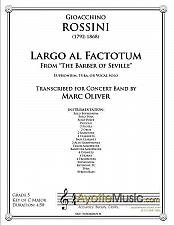 Buy Rossini - Largo al Factotum (Band)