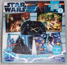 Buy STAR WARS Super 3D - 5 Puzzle Pack
