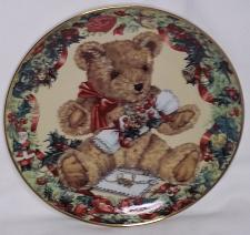 Buy Teddy's first Christmas decorative plate