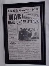 Buy Dec 7th 1941 war! Oahu under attack