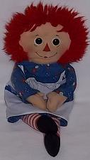 "Buy VINTAGE RAGGEDY ANN 12"" PLUSH DOLL"