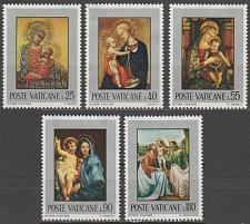 Buy [VC0504] Vatican City: Sc. no. 504-508 (1971) MNG full set