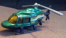 Buy Hot Wheels Mattel @1981 Helicopter !!!!