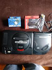 Buy Sega CD + Sega Genesis Console and Cords, Controller, 2 Games - Works - Very Good - C