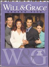 Buy Will & Grace - Complete 5th Season DVD, 2006, 4-Disc Set - Good