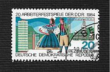 Buy German DDR Used Scott #2419 Catalog Value $.25