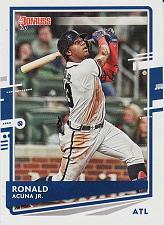 Buy 2020 Donruss #170 - Ronald Acuna Jr. - Braves