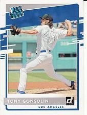 Buy 2020 Donruss #59 - Tony Gonsolin - Dodgers