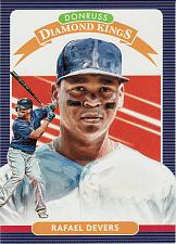 Buy 2020 Donruss #16 - Rafael Devers DK - Red Sox