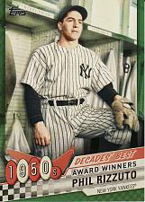 Buy 2020 Topps Decades' Best #10 - Phil Rizzuto - Yankees