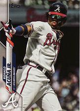 Buy 2020 Topps #150 - Ronald Acuna Jr. - Braves