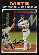 Buy 2020 Topps Heritage #492 - Jeff McNeil - Mets