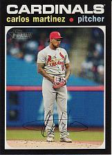 Buy 2020 Topps Heritage #450 - Carlos Martinez - Cardinals