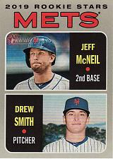 Buy 2019 Topps Heritage #348 - Jeff McNeil - Drew Smith - Mets