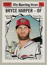 Buy 2019 Topps Heritage #367 - Bryce Harper AS - Nationals