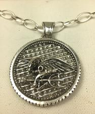 Buy Artisan made Seal Team Six insignia Coin medallion sterling silver