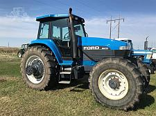 Buy 1994 Ford 8670 Tractor For Sale in Wishek, North Dakota 58495