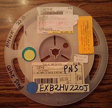Buy Lot of 4350 ?: Panasonic EXB-2HV220JV Resistors