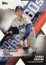 Buy 2020 Topps Decade Of Dominance #7 - Sandy Koufax - Dodgers