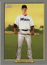 Buy 2020 Topps Turkey Red '20 #48 - Brian Anderson - Marlins
