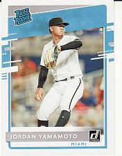 Buy 2020 Donruss #35 Jordan Yamamoto - Marlins