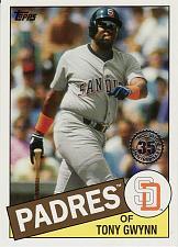 Buy 2020 Topps '85 Topps #85 - Tony Gwynn - Padres