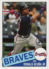 Buy 2020 Topps '85 Topps #12 - Ronald Acuna Jr. - Braves