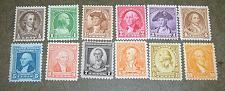 Buy US, Scott# 704-715, Washington birth Bicentennial set of 12 stamps MNH (0001-A)