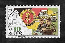 Buy German DDR Used Scott #2777 Catalog Value $.25