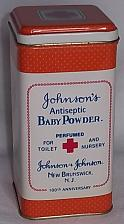 Buy Vintage Johnson & Johnson Baby Powder Metal Tin