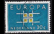 Buy NIEDERLANDE NETHERLANDS [1963] MiNr 0807 ( O/used ) CEPT