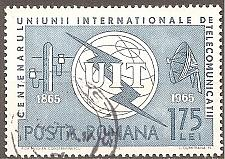 Buy [RO1744] Romania Sc. no. 1744 (1965) CTO Single