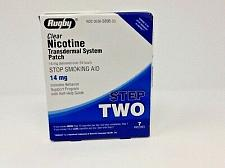 Buy rugby clear nicotine patches... step 2 14mg. 7 per box