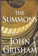 Buy The Summons by John Grisham 2002 Hardcover Book - Very Good