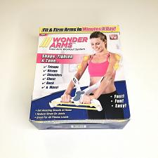 Buy wonder arms.. total arm workout system