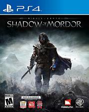 Buy playstation 4 middle - earth shadow of mordor