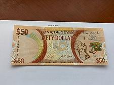 Buy Guyana 50 dollar uncirc. polymer banknote 2016