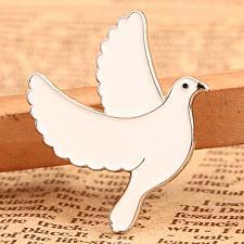 Buy Enamel Pins | Custom Pigeon Hat Pins | No Minimum