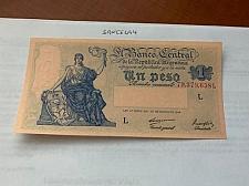 Buy Argentina 1 peso uncirc. banknote 1947