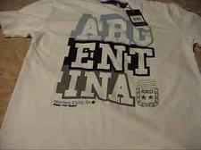 Buy Argentina Soccer Crew T-Shirt Vintage 1986 new L