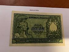 Buy Italy 50 lire Elmata uncirc. banknote 1951 #2