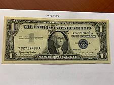 Buy United States Washington circulated blue banknote 1957 B #46