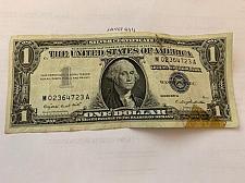 Buy United States Washington circulated blue banknote 1957 #48