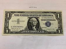 Buy United States Washington uncirc. blue banknote 1957 B #1