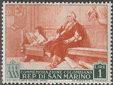 Buy [SM0308] San Marino Sc. no. 308 (1952) MH