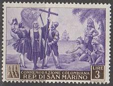 Buy [SM0310] San Marino Sc. no. 310 (1952) MH