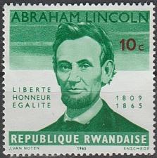 Buy [RW0092] Rwanda Sc. no. 92 (1965) MNG